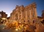 fontana-di-trevi-tramonto